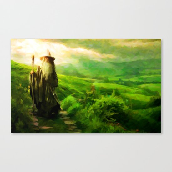 Gandalf's Return - Painting Style Canvas Print