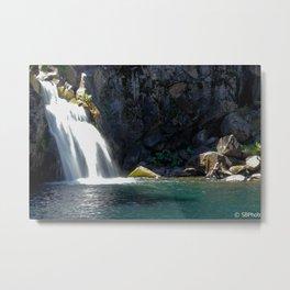 McCloud River Falls Metal Print