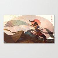 spiritual Canvas Prints featuring Spiritual State by Caleb Thomas