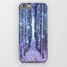 Magical Forest Lavender Ice Blue Periwinkle Slim Case iPhone 6s