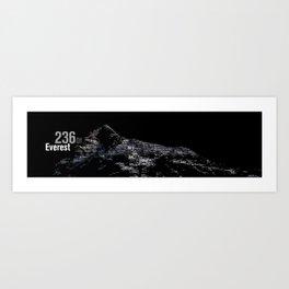 Everest 236 Art Print