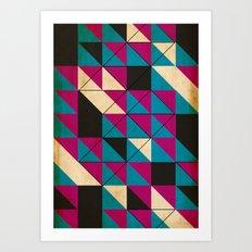 blocked Art Print