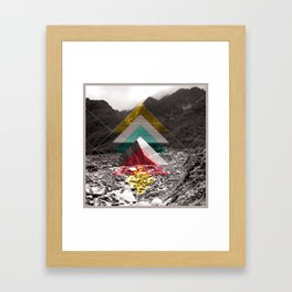Sojourn series - Fox Glacier  Framed Art Print