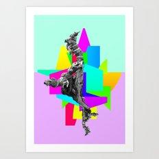 Magic Stick Art Print