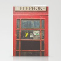 telephone Stationery Cards featuring Telephone by Benjamin Robles Art