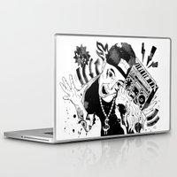 rap Laptop & iPad Skins featuring rap by Dagmara Jagodzinska