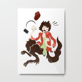 Werwolf Metal Print