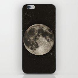 The Moon  [Sans Type] iPhone Skin