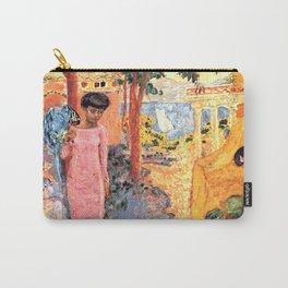 Pierre Bonnard - Femme au Perroquet - Woman with Parrot - Les Nabis Painting Carry-All Pouch