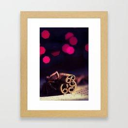 Cinnamon  Framed Art Print