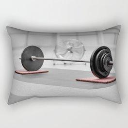 Classic Deadlifting Rectangular Pillow