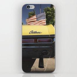 'Cutlass' classic american auto oldsmobil e iPhone Skin