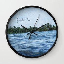 Paradise lost Wall Clock