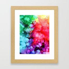 Rainblow Framed Art Print