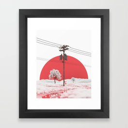 LAGUNA (04/21/18) Framed Art Print