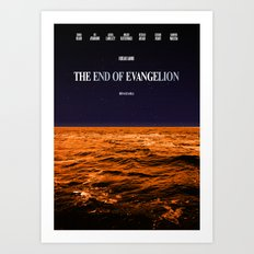 Movie Poster: The End of Evangelion Art Print
