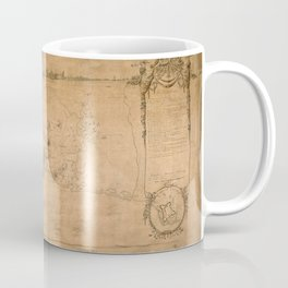 Map Of Havana 1762 Coffee Mug