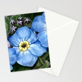 Do not forget me - azorean flora Stationery Cards