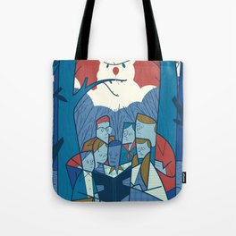 We all float down here Tote Bag
