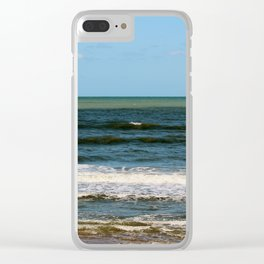 Colors Of The Ocean Clear iPhone Case