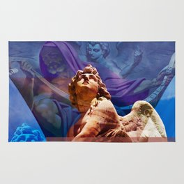 Religious Hymns of Angels Rug