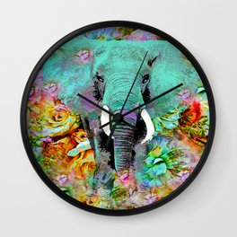 ELEPHANT Wall Clock