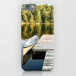 Dock on the Lake iPhone Case