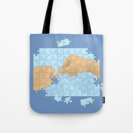 I'm puzzled Tote Bag