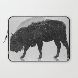 European Buffalo (B&W) Laptop Sleeve