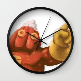 Gelatin Man Wall Clock