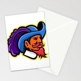 Cavalier Head Mascot Stationery Cards