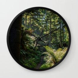 Nature Walk Wall Clock