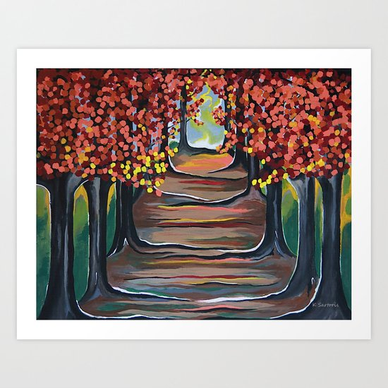 The Tranquility Of Nature Art Print