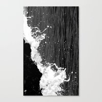 splash Canvas Prints featuring splash by Bunny Noir