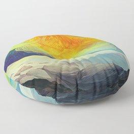 The Fantail Aurora Floor Pillow