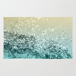 Lemon Twist Beach Glitter #2 #shiny #decor #art #society6 Rug
