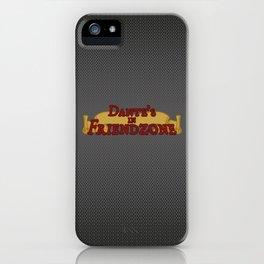 Dante's In Friendzone iPhone Case