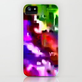 Glitchy iPhone Case