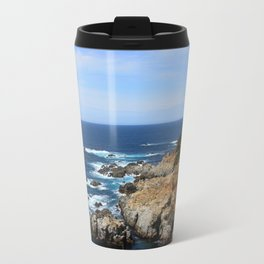 Looking Out onto the Coast Travel Mug