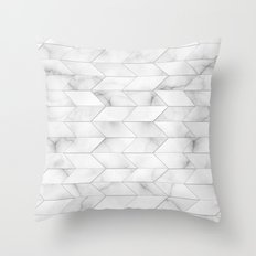 Style of Tile - Marble Throw Pillow