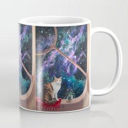 Space Cat Coffee Mug