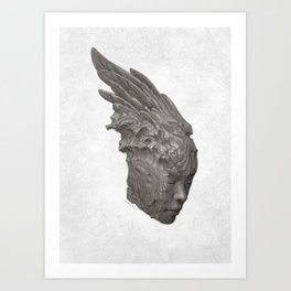 Stone Angel Art Print