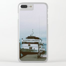 alcatraz blues Clear iPhone Case