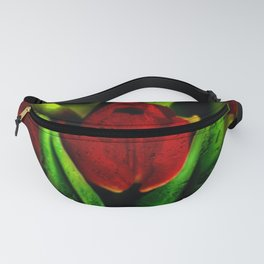 Concept flora : The red queen Fanny Pack