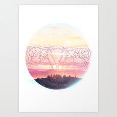 Uterusane Art Print