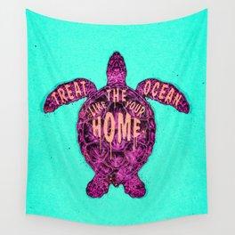ocean omega (variant) Wall Tapestry