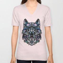 Snow Wolf Unisex V-Neck