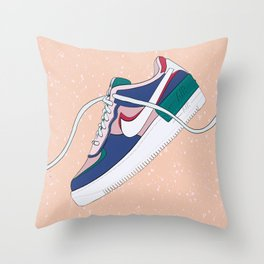 Air Force Sneakers Throw Pillow