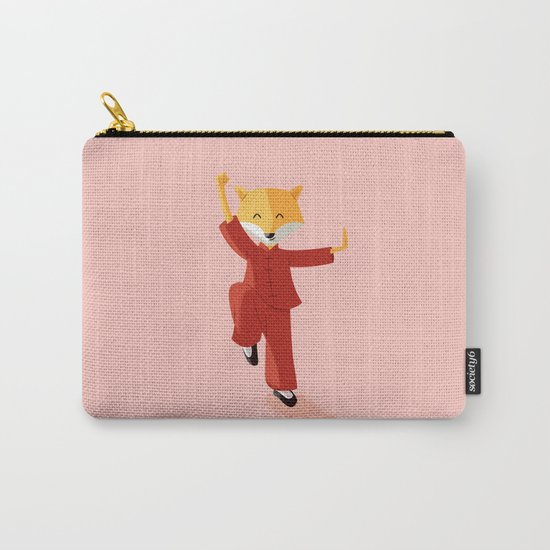 Mr. Fox knows Kung fu Carry-All Pouch