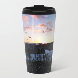 Algonquin Winter Sunset Travel Mug